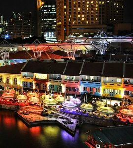 Nightclubs in Clarke Quay
