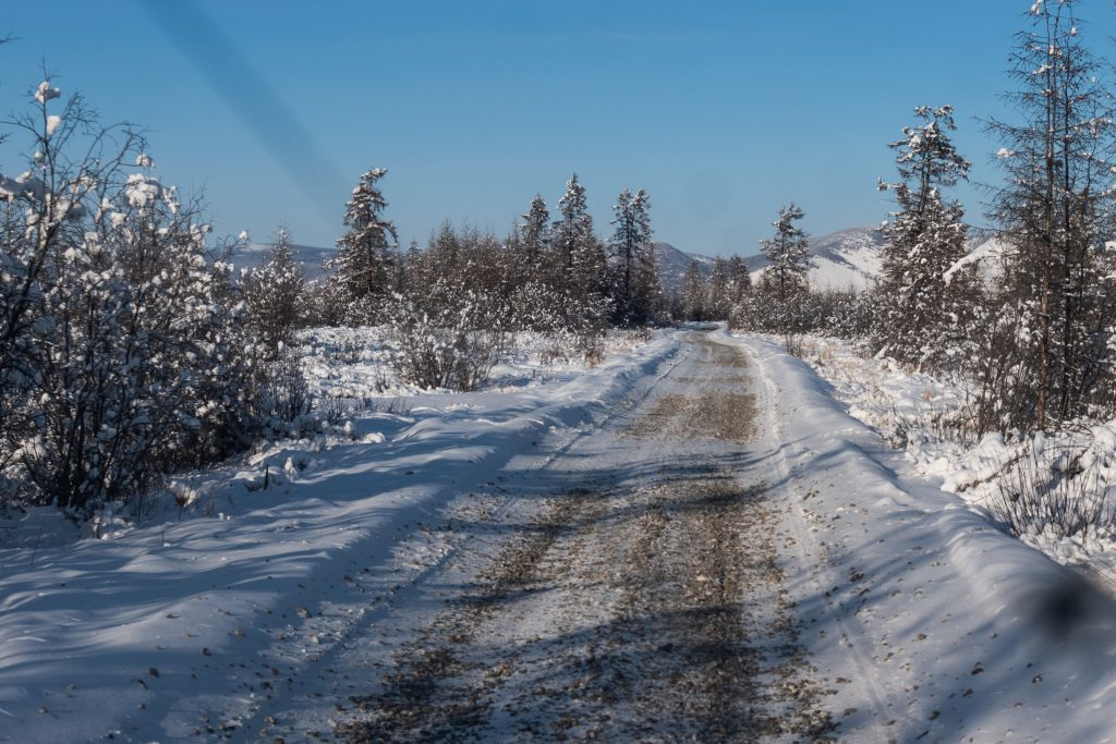 Oymyakon Snow