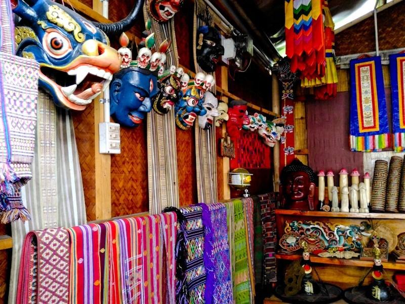 Authentic Handicraft Market Thimpu