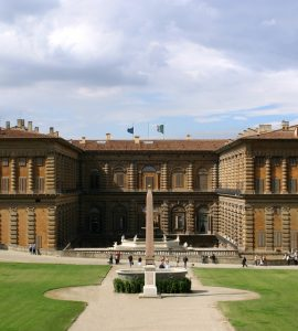 Palazzo pitti in Italy