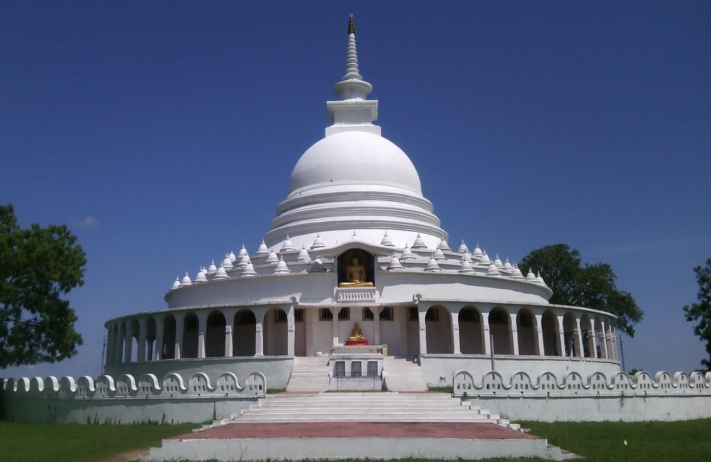 Japanese Peace Pagoda in SriLanka