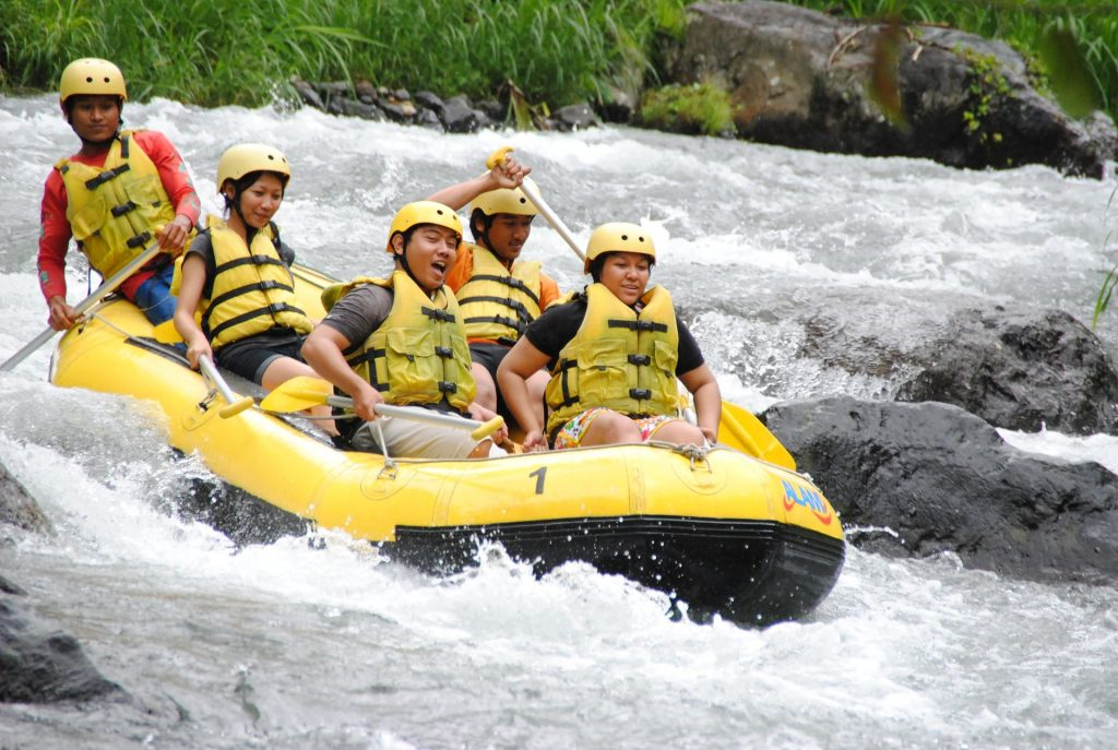 White water river rafting in Gangtok