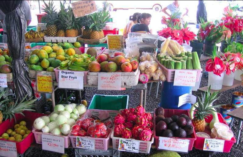 Kea Farm market
