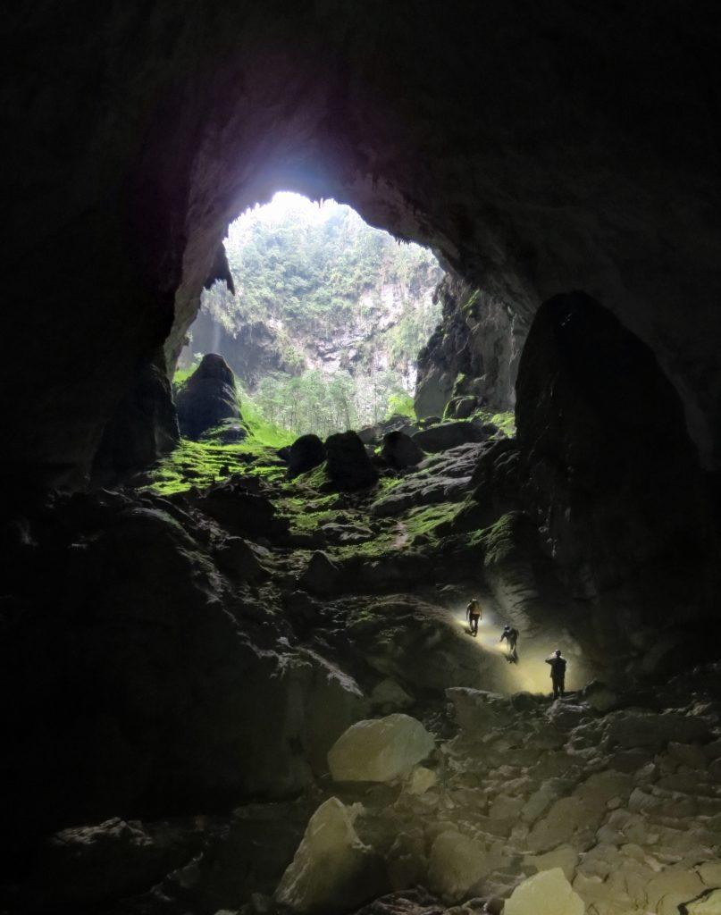 Son Doong Cave in Vietnam