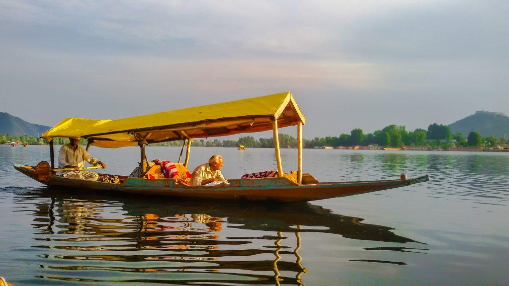 Shikar boat on Dal Lake in India
