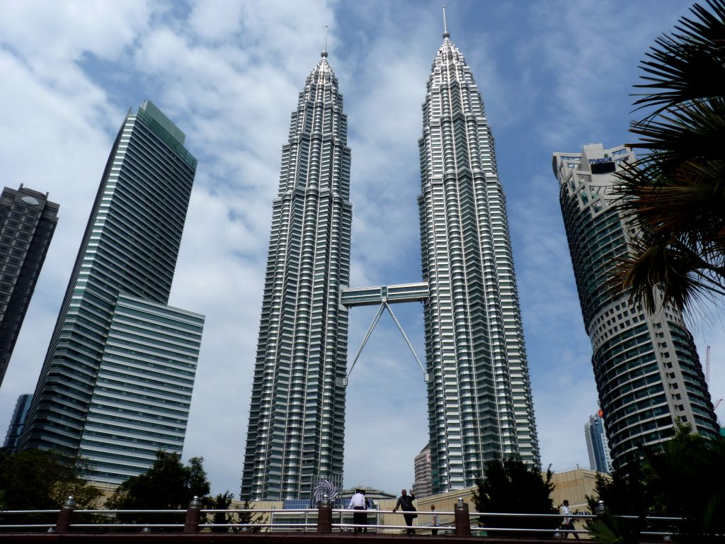 The Petronas Towers (Best time to visit Malaysia)