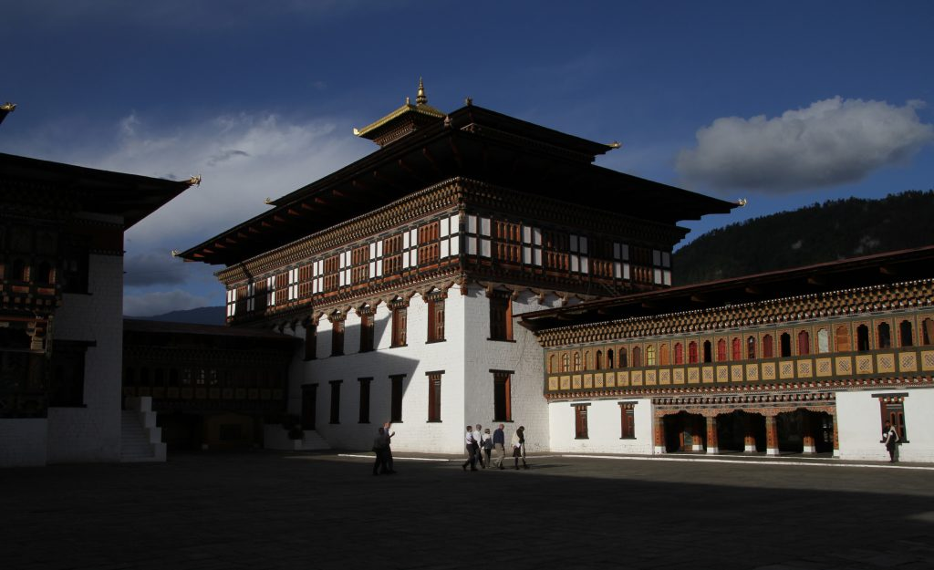 Thimphu Dzong, one of the must visits in the country