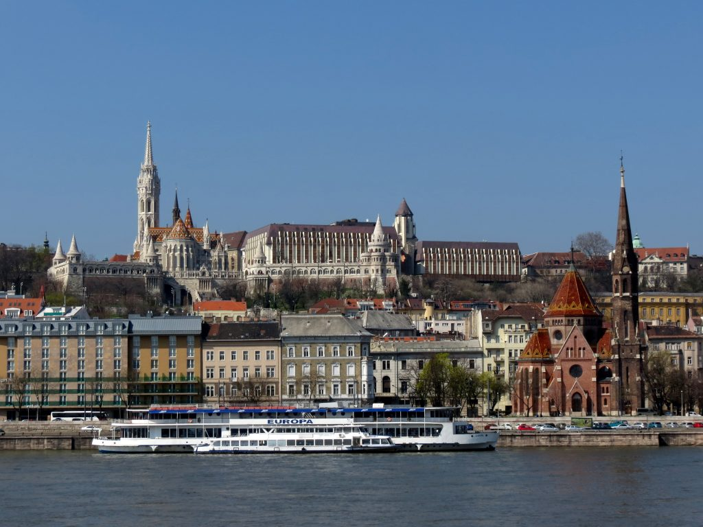 The Castle Hill from Danube (Places to Visit In Budapest)