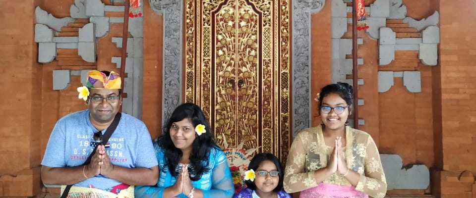 Following the Bali tradition