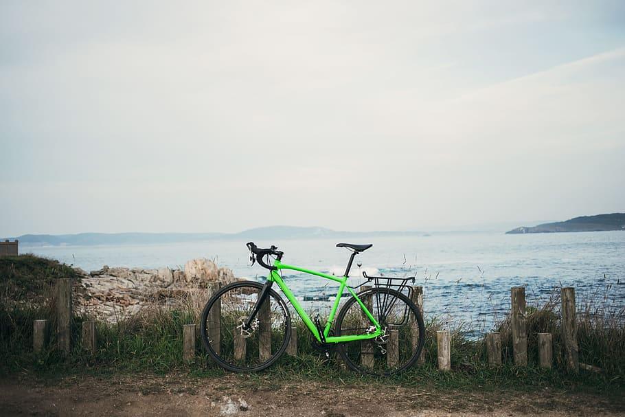 Cycling on Mahe island