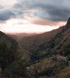 Mountain range in Srilanka
