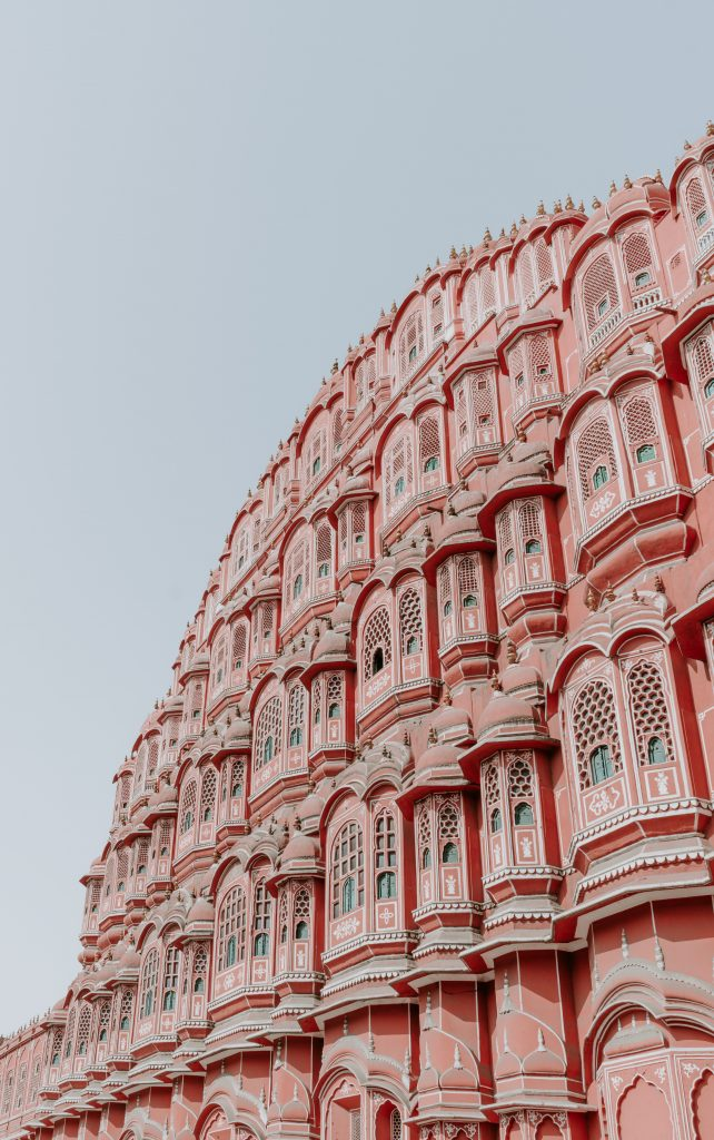 Brilliant view of the Mahal