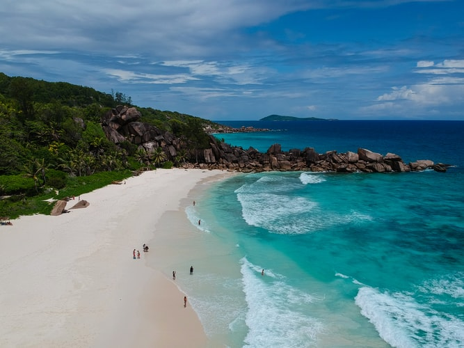 Anse Georgette, praslin island, seychelles