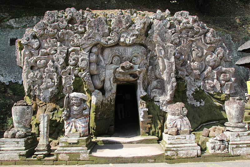 Goa Gajah Temple of Bali
