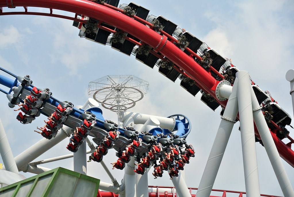 Battlestar Galactica coaster rides in Singapore