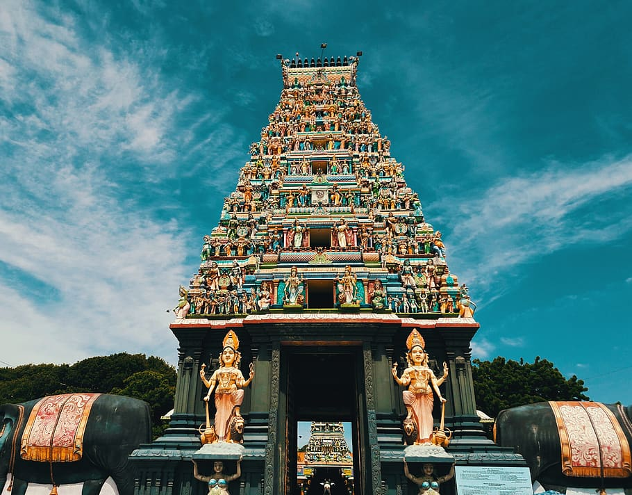 Colombo temple, part of the Ramayana tour