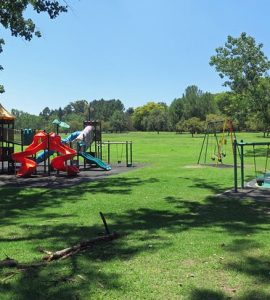 Play area of Delta Park in South Africa