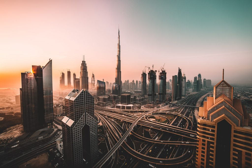 Famous Dubai Downtown