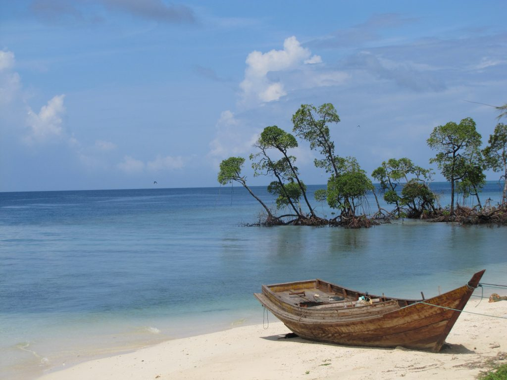 A beach in Andaman, one of the top places in India