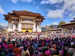 The Black Necked Crane Festival (Best time to Visit Bhutan)