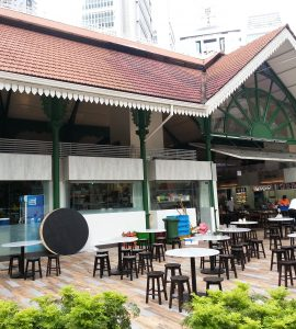 DIne at Lau Pa Sat