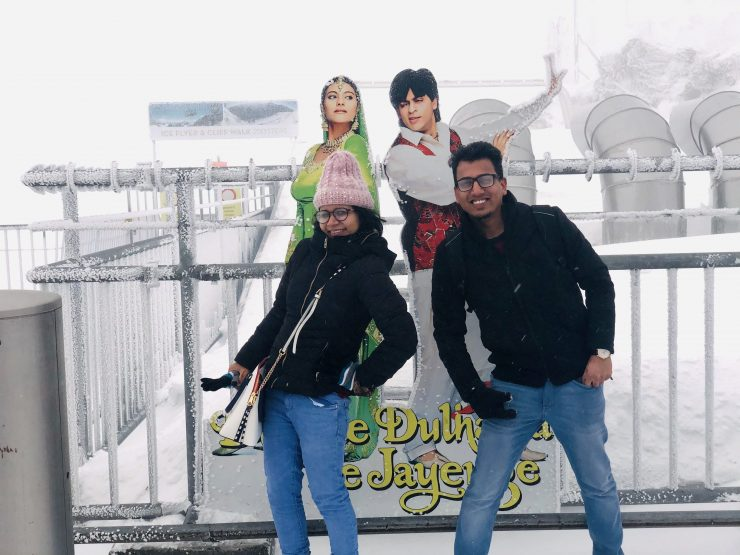 Dilwale at Titlis
