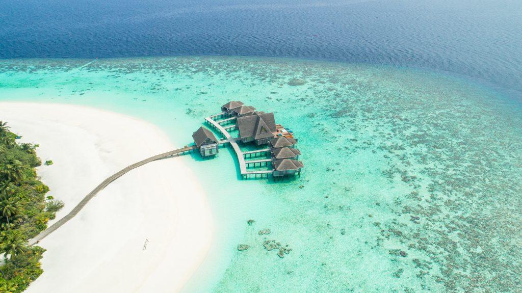 Water villa at Maldives