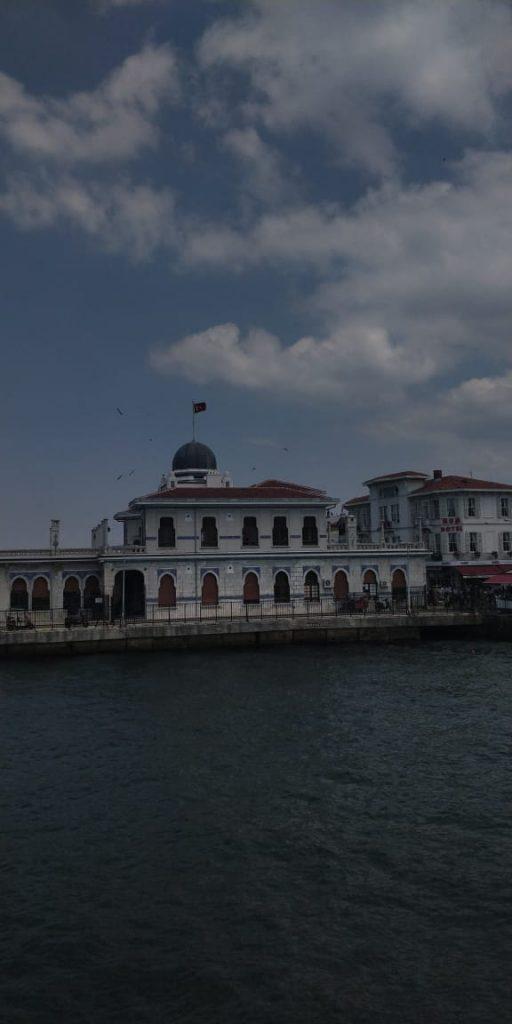 beautiful view at istanbul