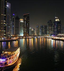 Dubai Creek at Night