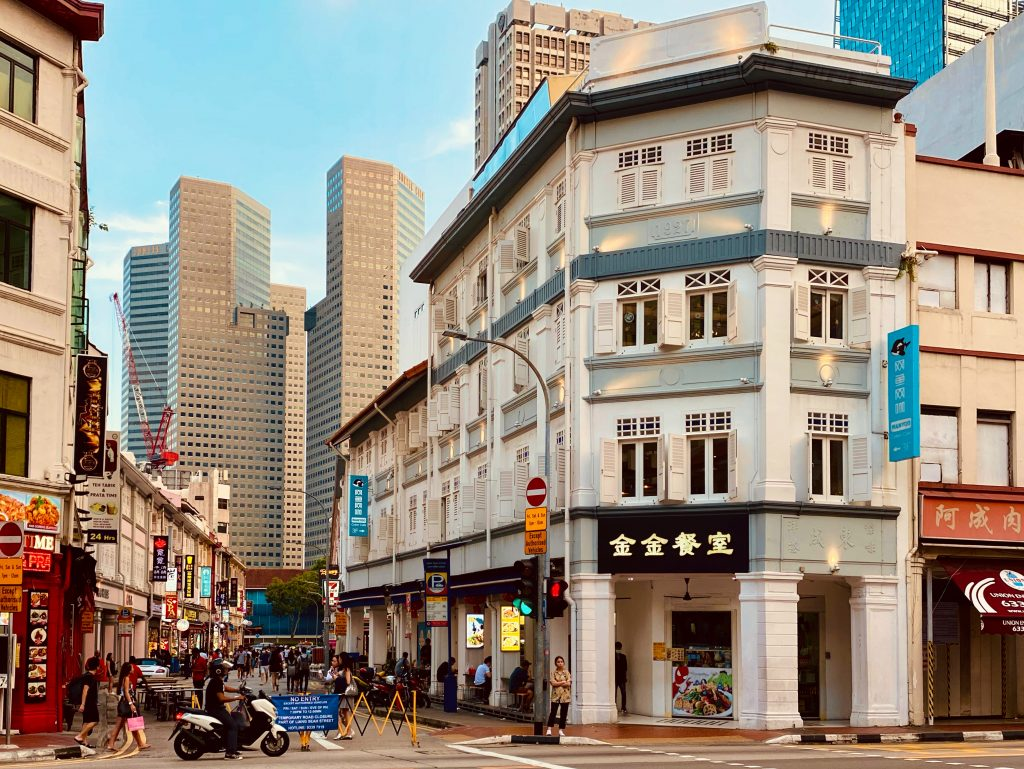 Bugis Street market in SIngapore