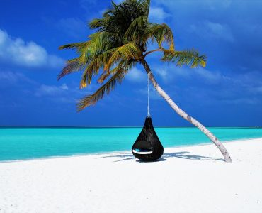 Hammock in Maldives Beach