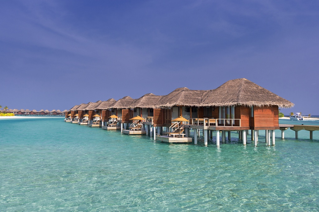Beautiful Overwater Villas at Maafushi