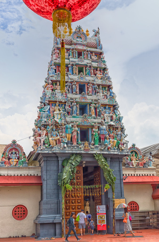 Temple tower of Mariamman temple