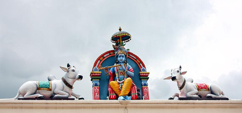 Entrance of Mariamman temple