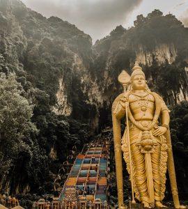 Batu caves in Kuala Lumpur
