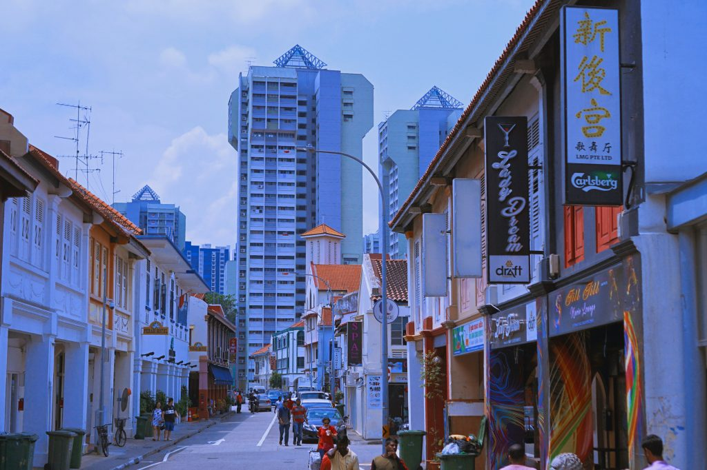 Little India in SIngapore, one of the best places for shopping