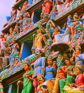 Architecture of Mariamman temple