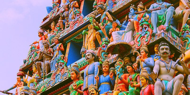 Architecture of Mariamman temple