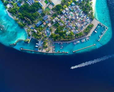 Mirihi island in Maldives