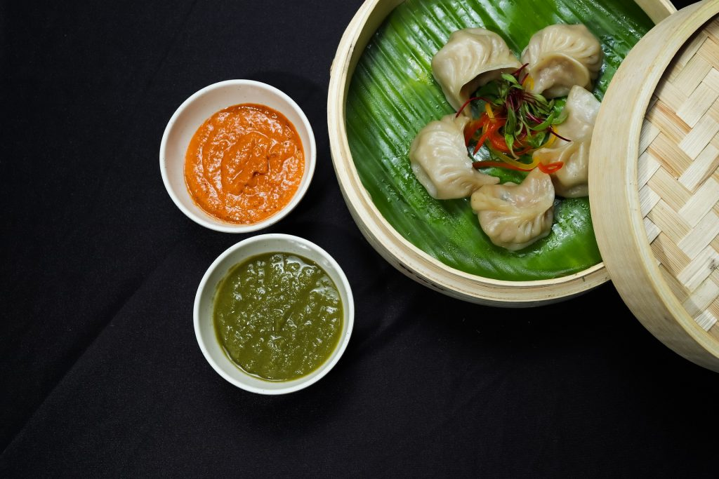 A serving of momos, a popular street food in Bhutan
