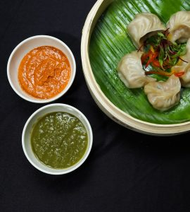 Momos, famous street food in Bhutan