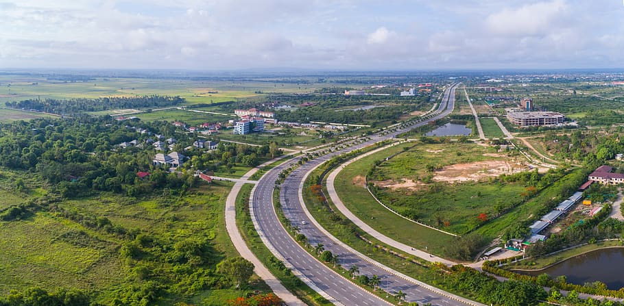 India - Myamar highway which is used to reach Singapore by road