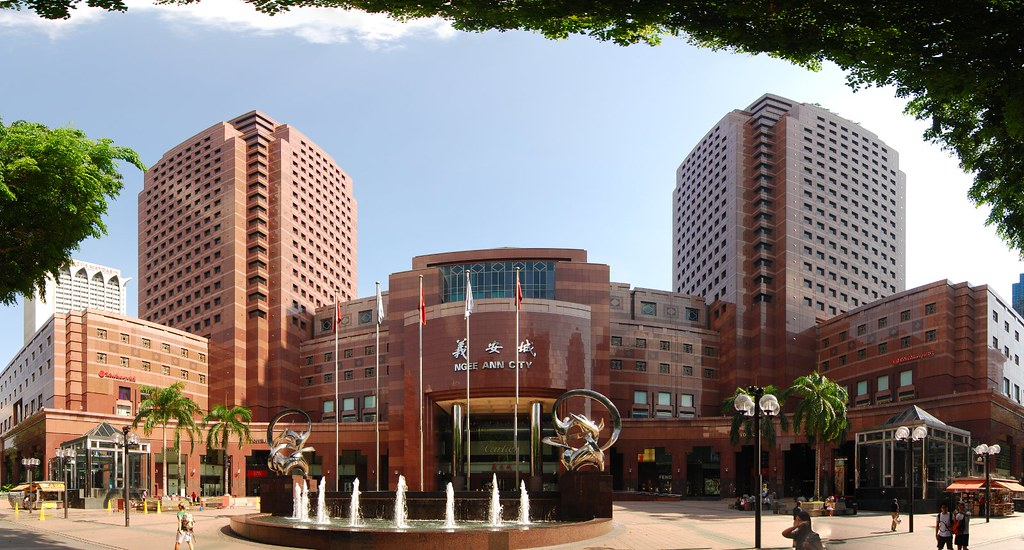 the oldest ngee ann city mall