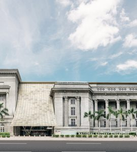The national art gallery in Singapore