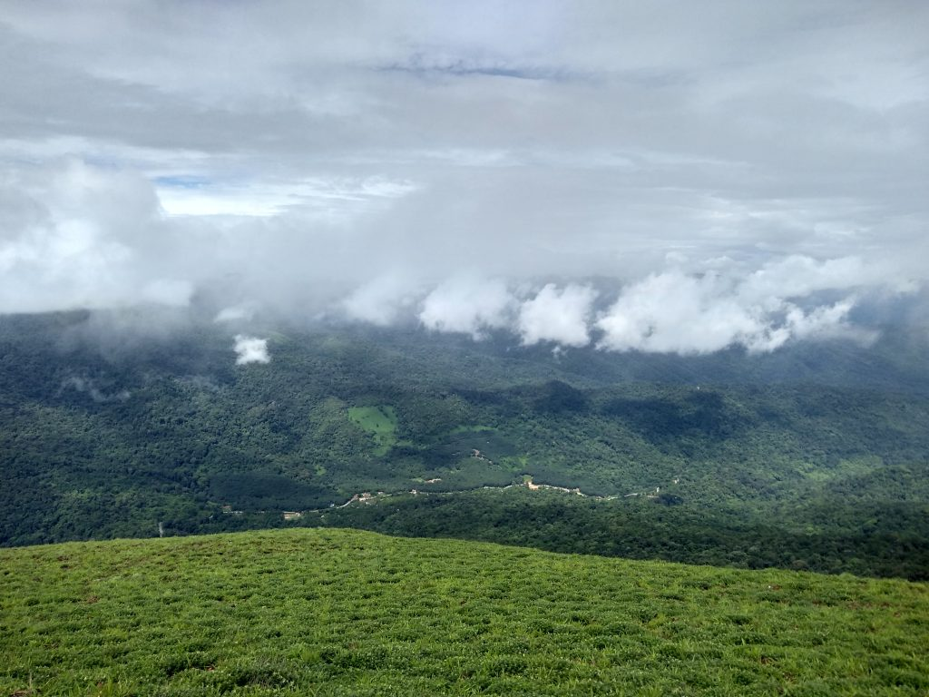 Amazing view of Coorg