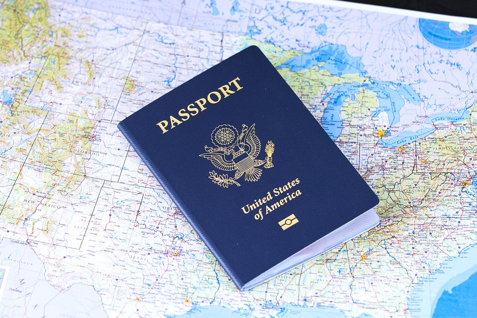 A US passport
