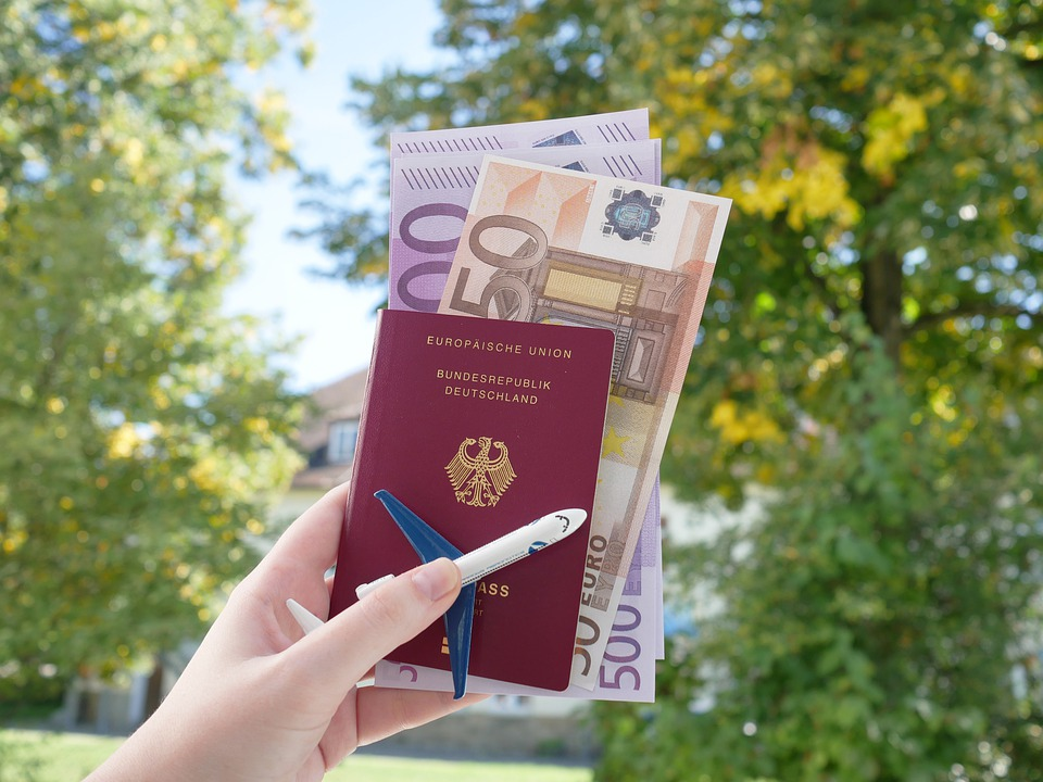 Passport and local currency