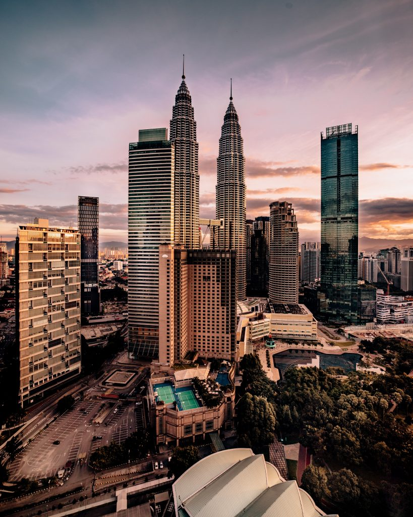 Kuala Lampu, Malaysia in december