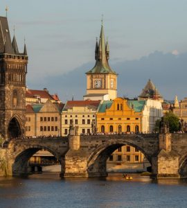Chales Bridge in Prague