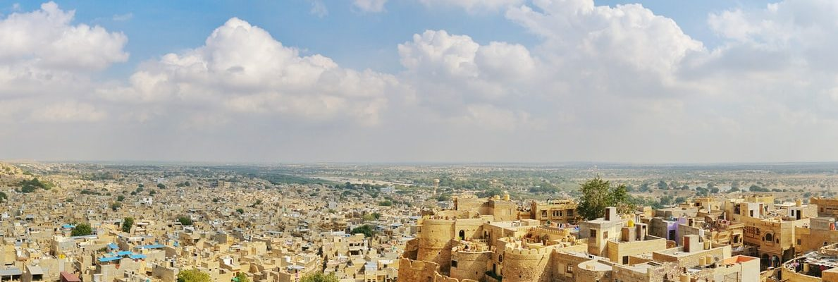 Jaiselmer fort in Rajasthan